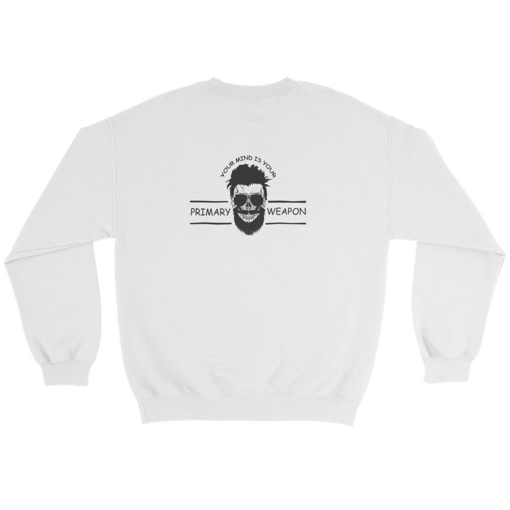 Men's Sweatshirt: Your Mind...-TrainOurTroops-TrainOurTroops