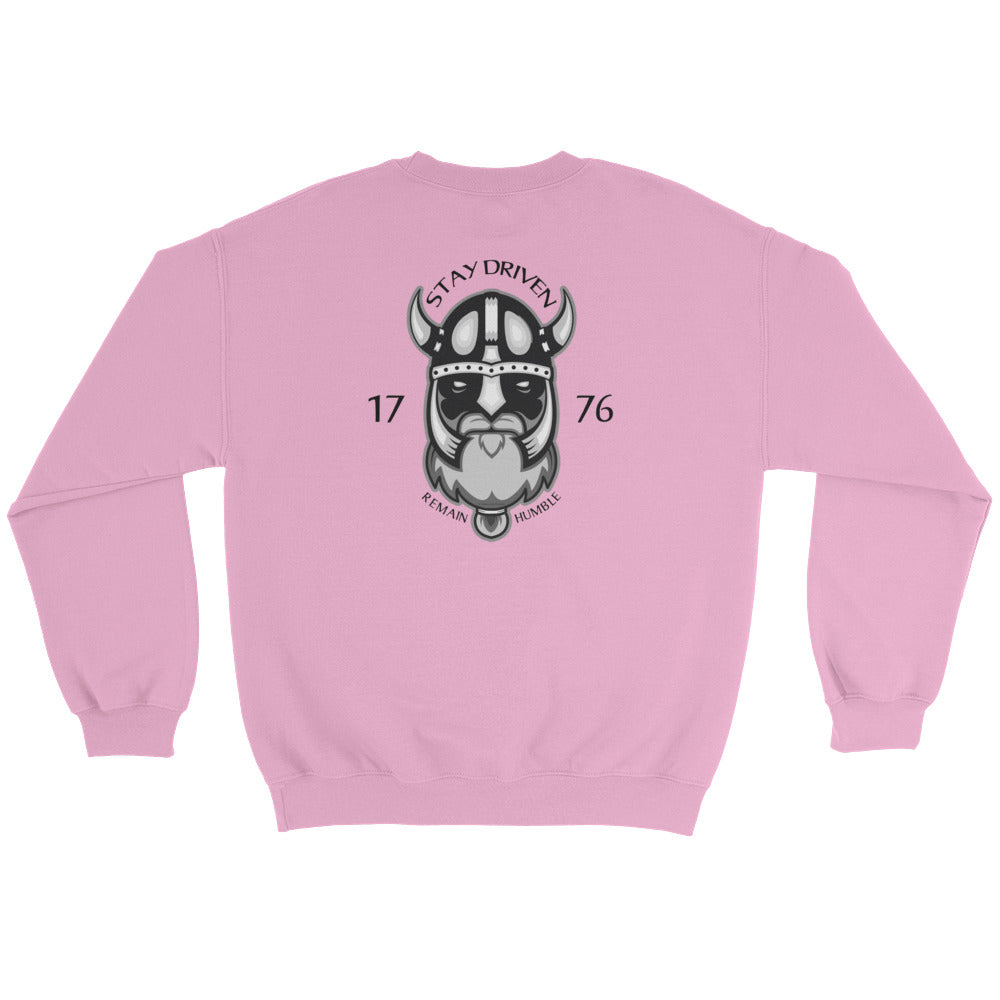 Woman's Sweatshirt: Stay Driven...-TrainOurTroops-TrainOurTroops