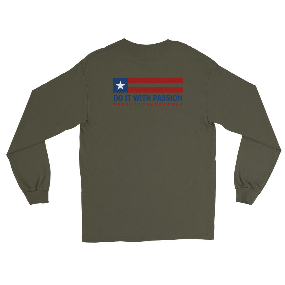 Women's Long Sleeve: Do It With Passion-TrainOurTroops-TrainOurTroops