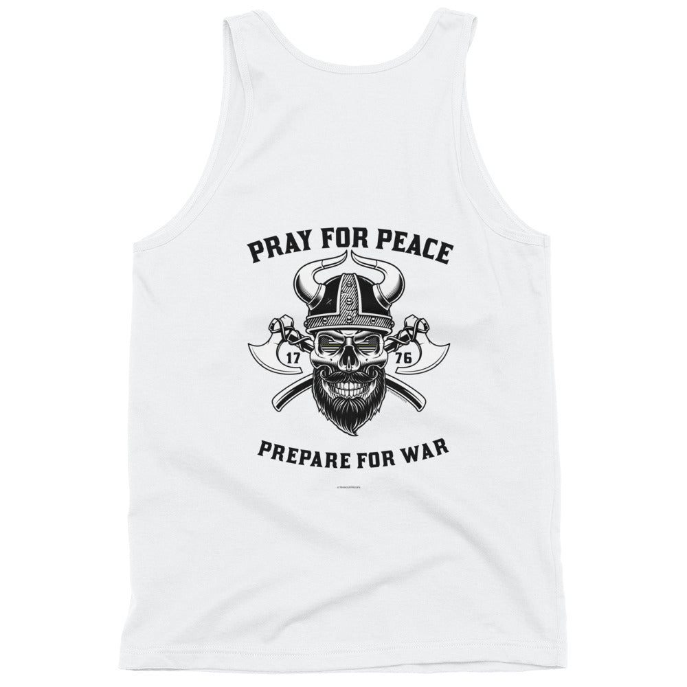 Men's Tank: Pray For Peace...-TrainOurTroops-TrainOurTroops