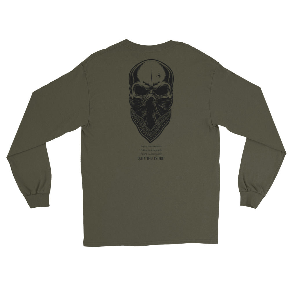 Men's Long Sleeve: Quitting...-TrainOurTroops-TrainOurTroops