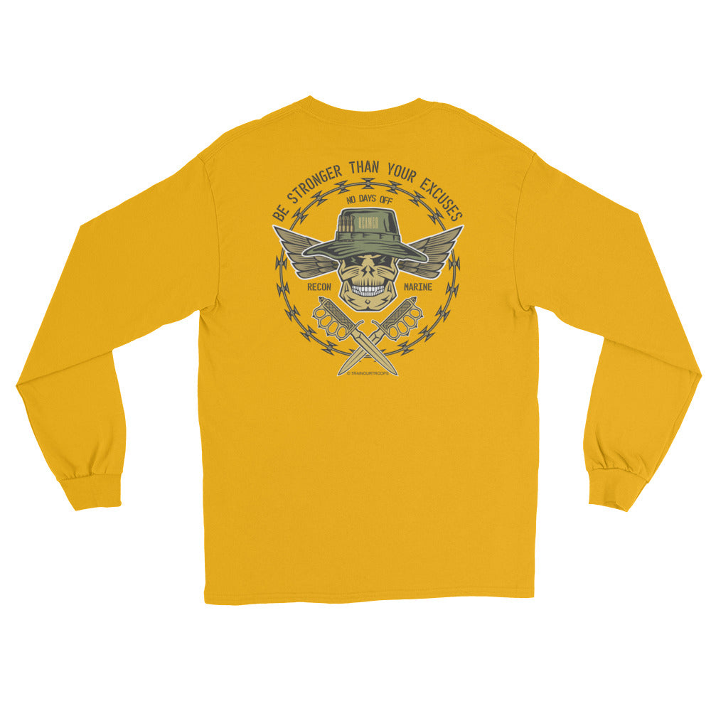Men's Long Sleeve: Stronger...