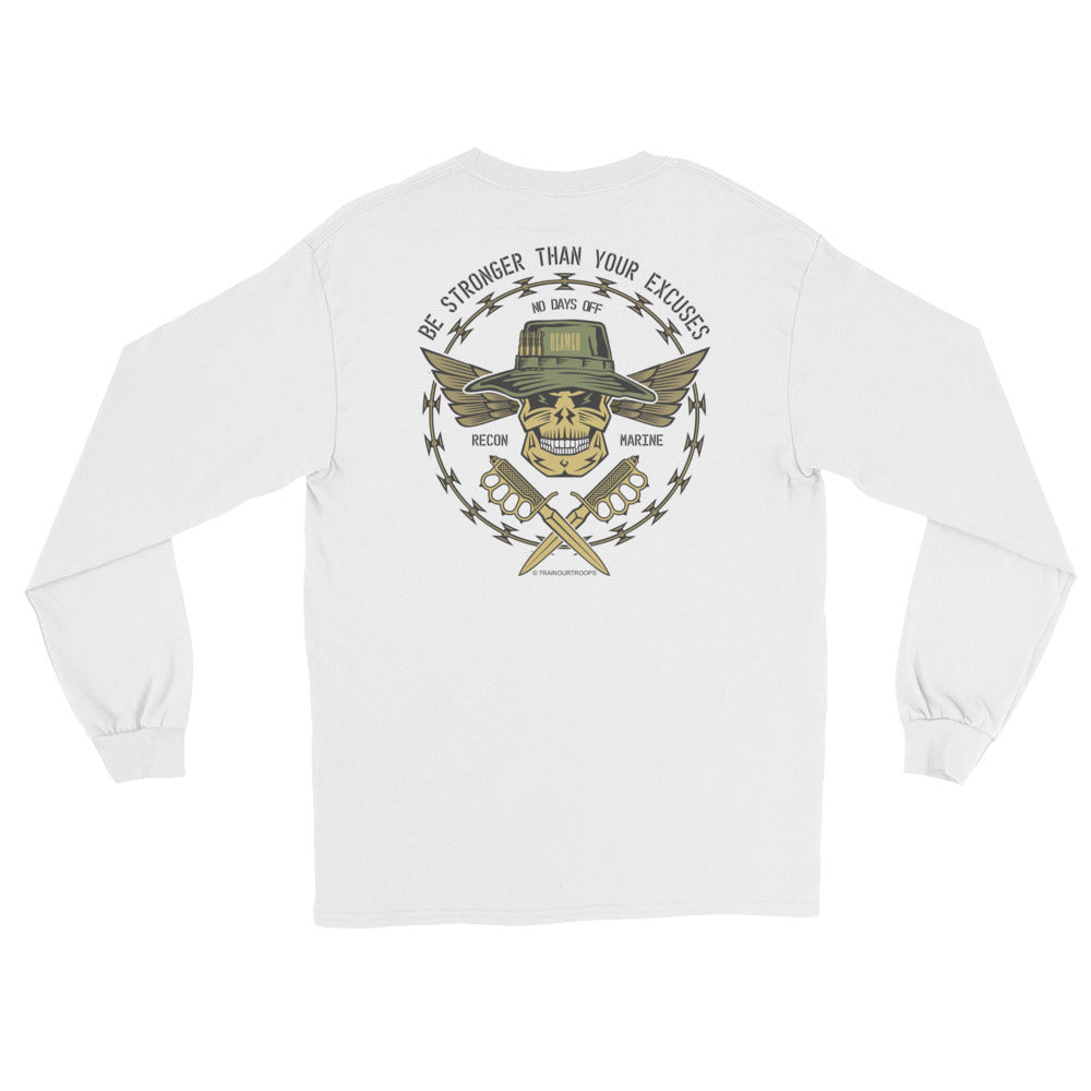 Men's Long Sleeve: Stronger...-TrainOurTroops-TrainOurTroops