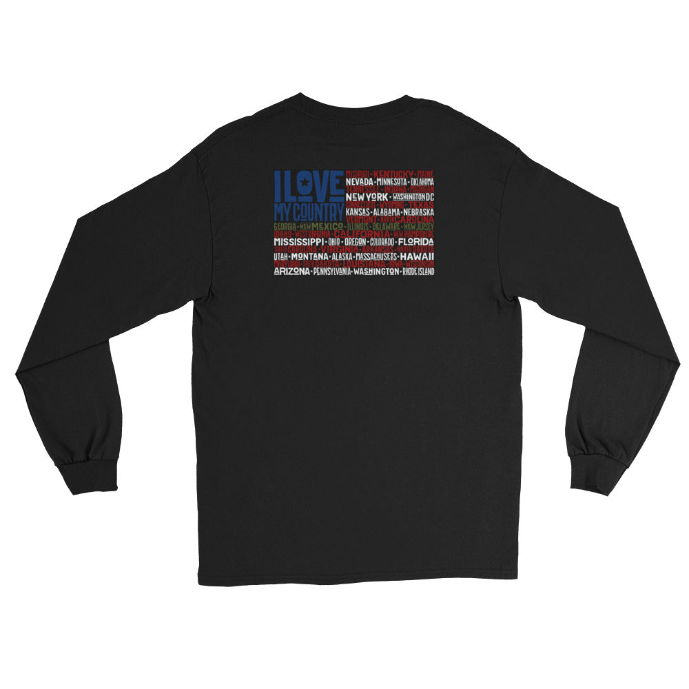 Women's Long Sleeve: I Love My...-TrainOurTroops-TrainOurTroops