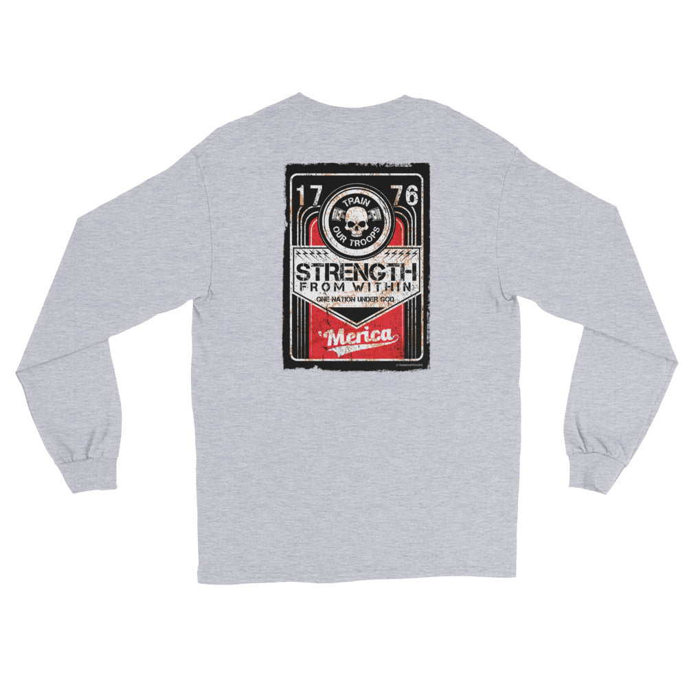 Men's Long Sleeve: Strength...