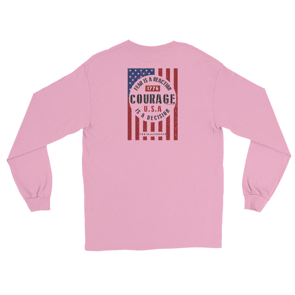 Women's Long Sleeve: Courage...