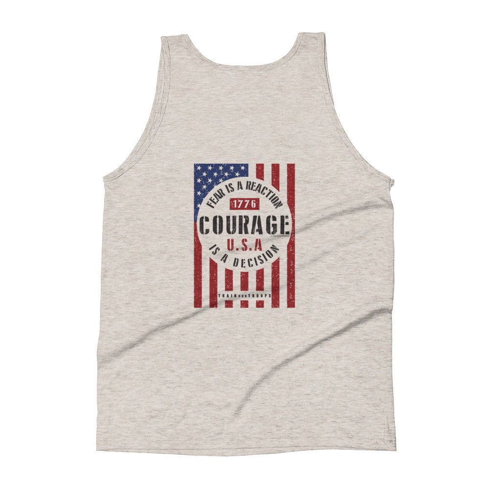Woman's Tank: Courage...