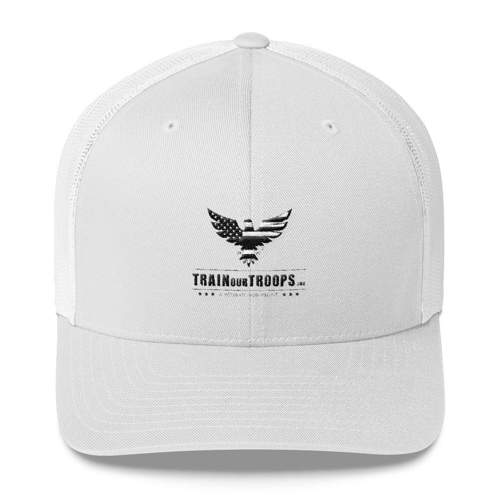 Trucker Hat: TrainOurTroops-TrainOurTroops-TrainOurTroops