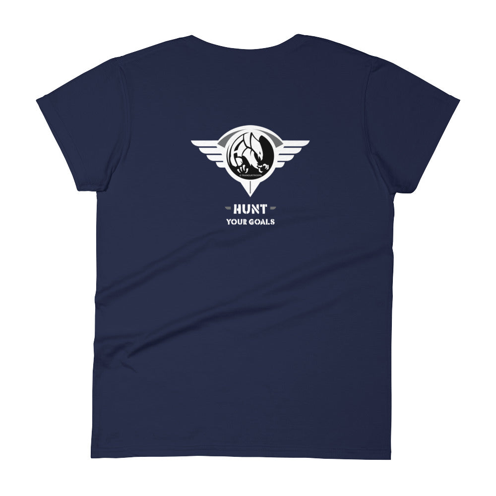 Woman's Tee: Hunt...-TrainOurTroops-TrainOurTroops