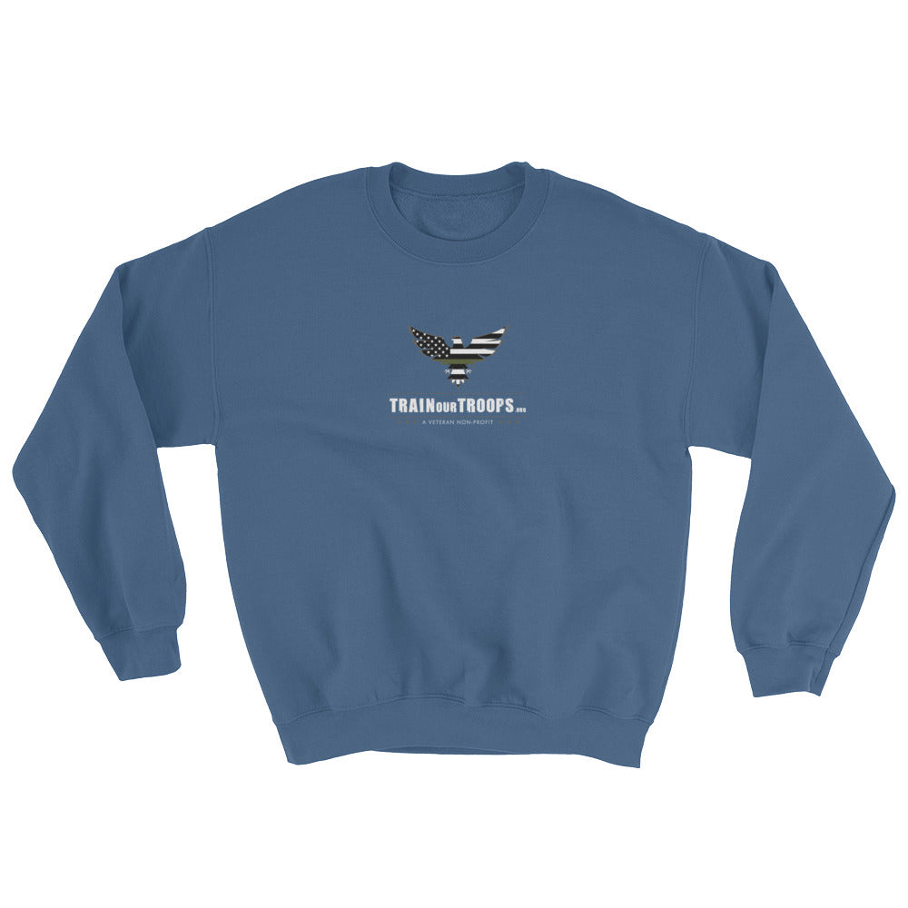 Men's Sweatshirt: Not All Angels...-TrainOurTroops-TrainOurTroops