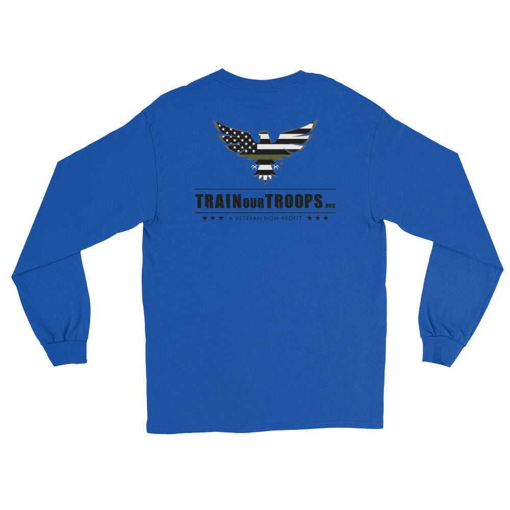 Men's Long Sleeve: TrainOurTroops