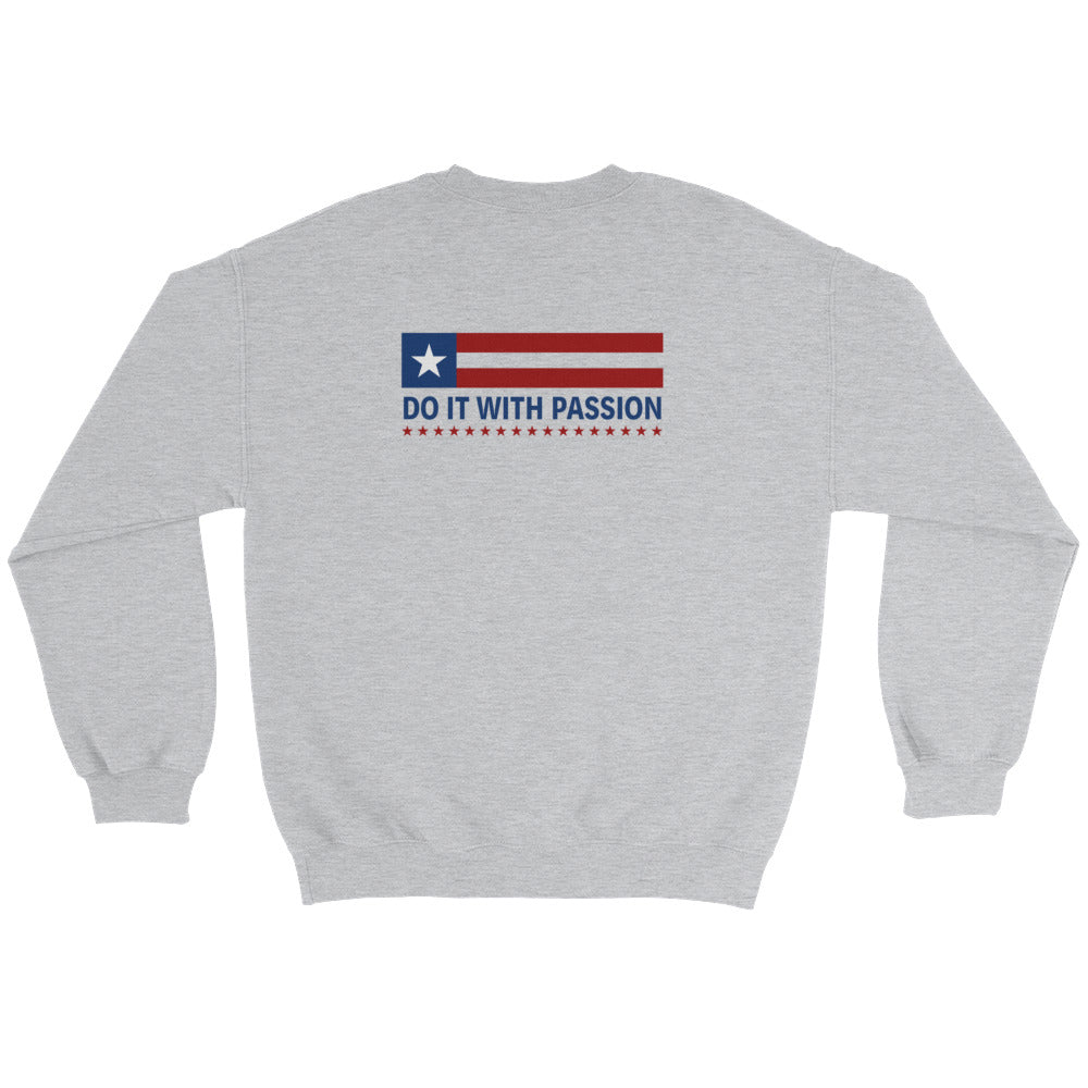Men's Sweatshirt: Do It With...-TrainOurTroops-TrainOurTroops