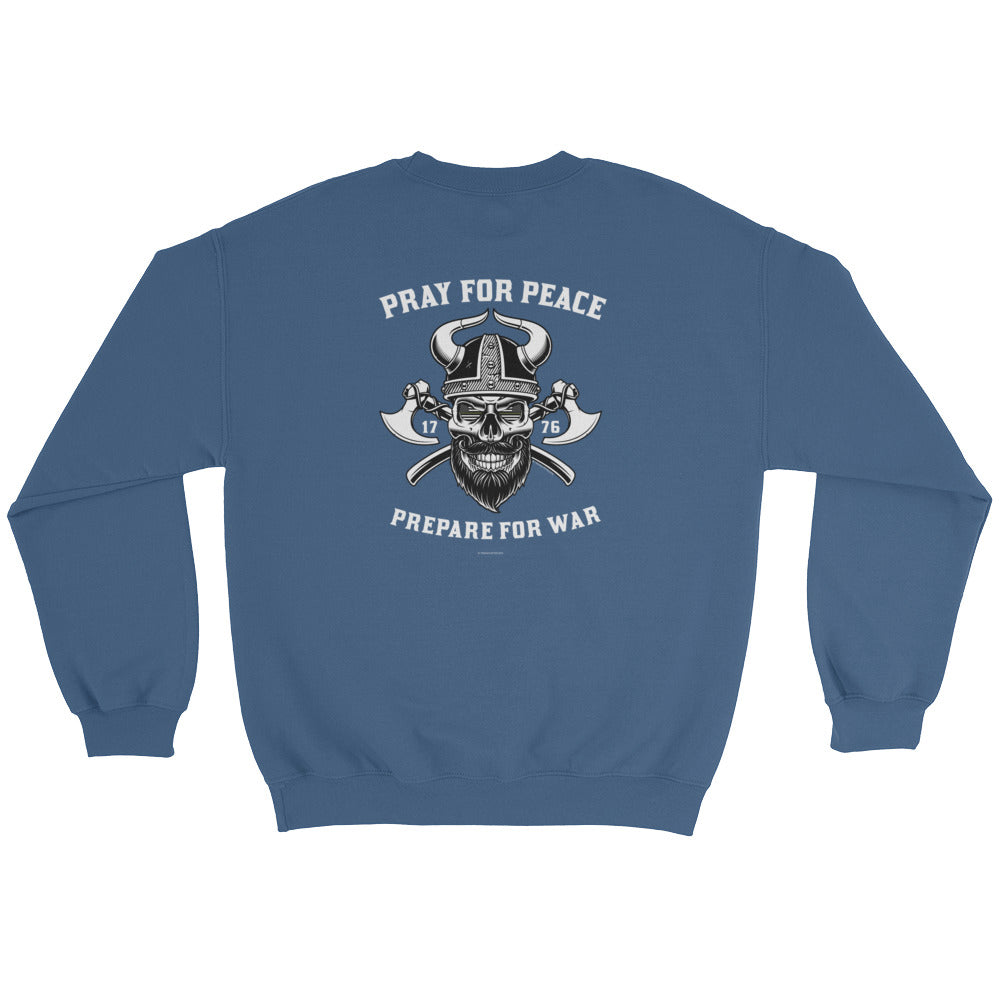 Woman's Sweatshirt: Pray...-TrainOurTroops-TrainOurTroops