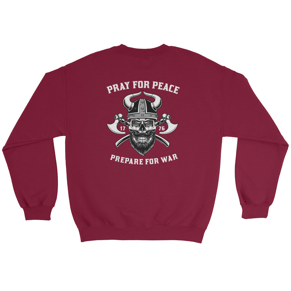 Men's Sweatshirt: Pray For...-TrainOurTroops-TrainOurTroops