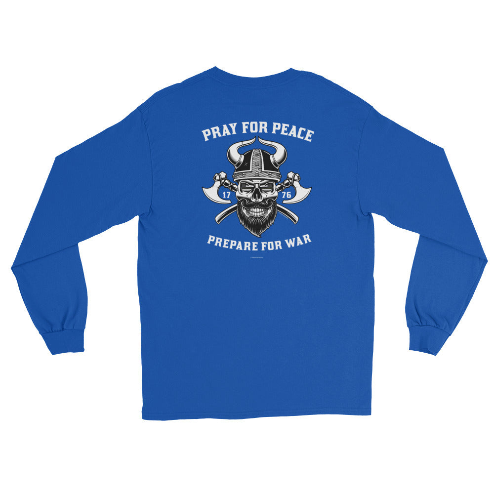 Women's Long Sleeve: Pray For Peace...-TrainOurTroops-TrainOurTroops