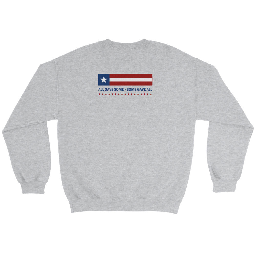 Woman's Sweatshirt: All Gave Some...-TrainOurTroops-TrainOurTroops