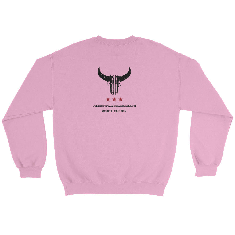 Woman's Sweatshirt: Fight...-TrainOurTroops-TrainOurTroops
