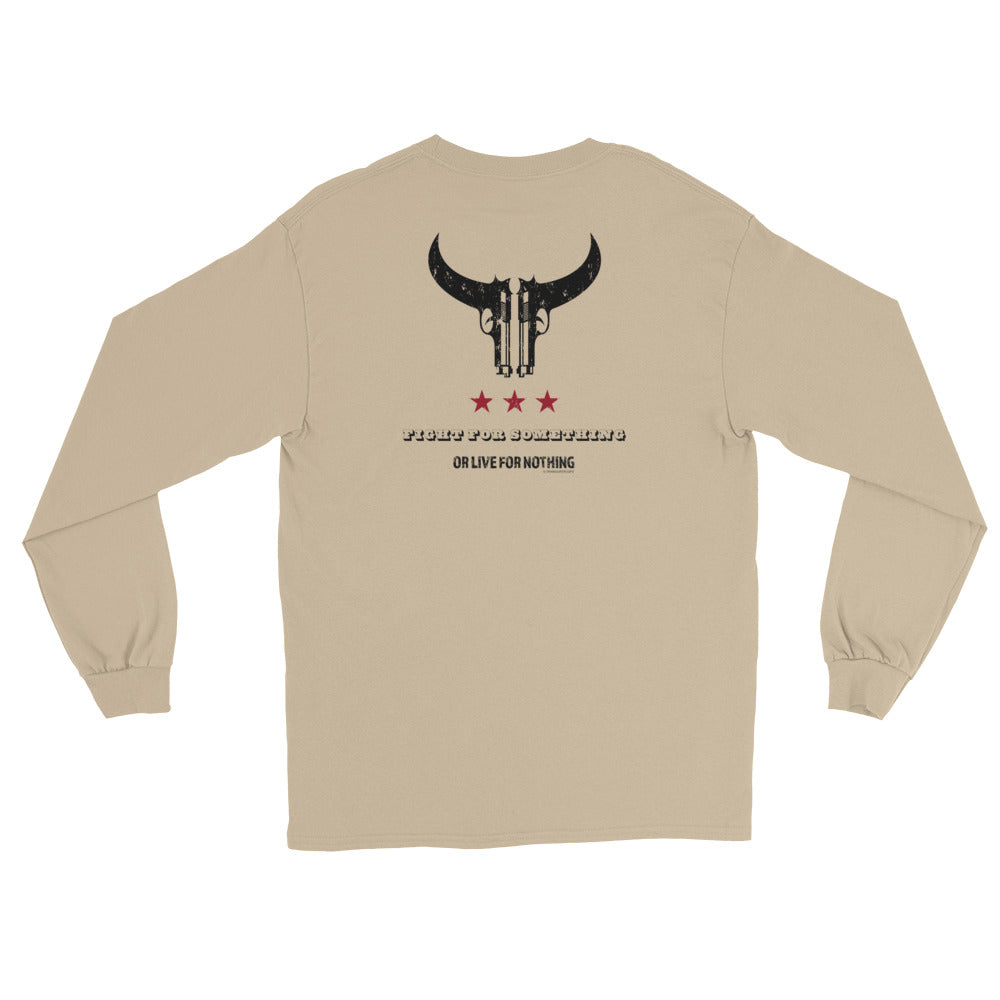 Women's Long Sleeve: Fight For Something...-TrainOurTroops-TrainOurTroops