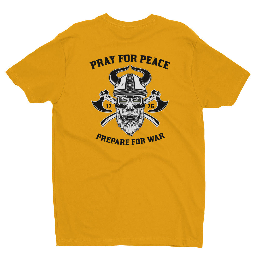 Men's Tee: Pray For Peace...-TrainOurTroops-TrainOurTroops