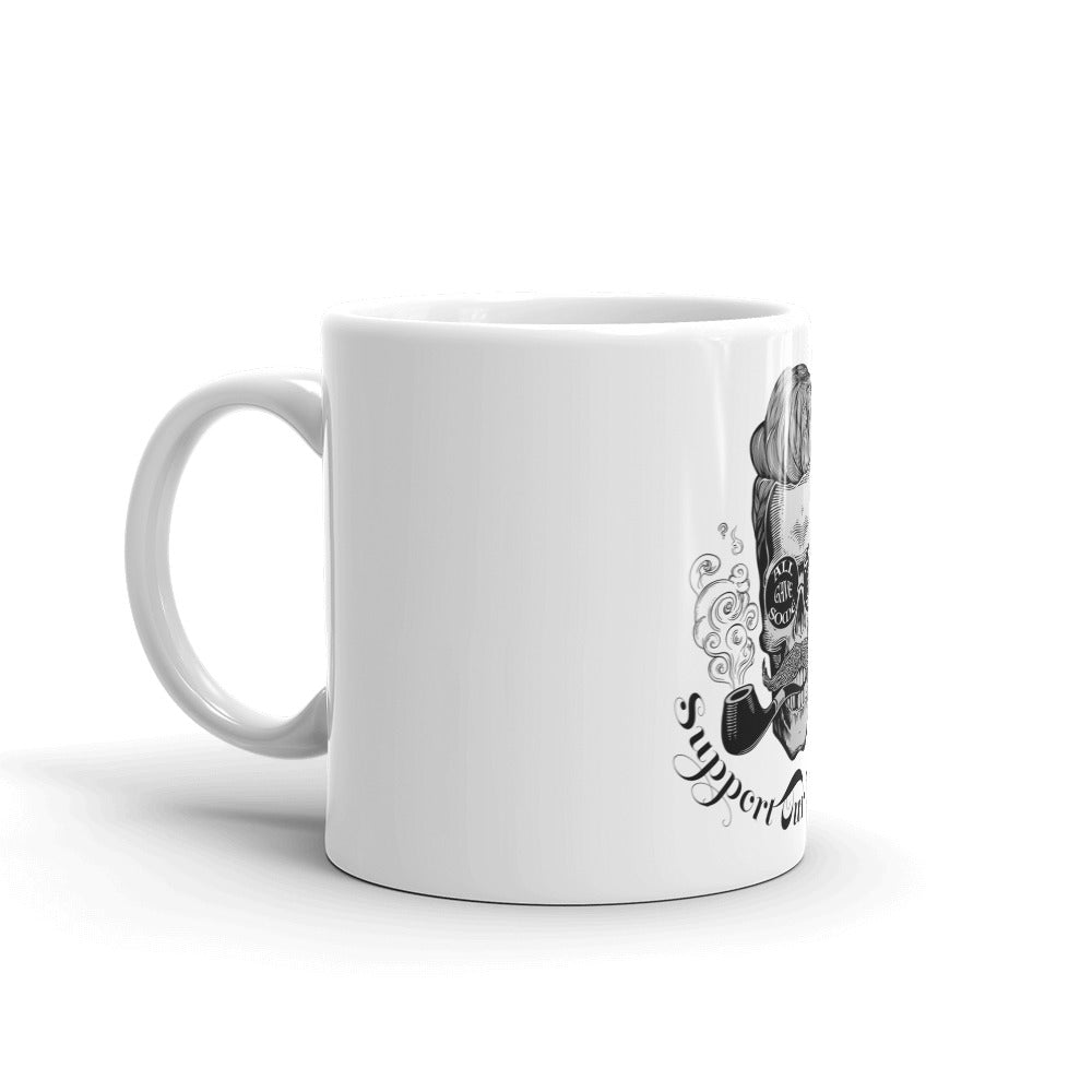 Mug: Support Our Veterans...-TrainOurTroops-TrainOurTroops