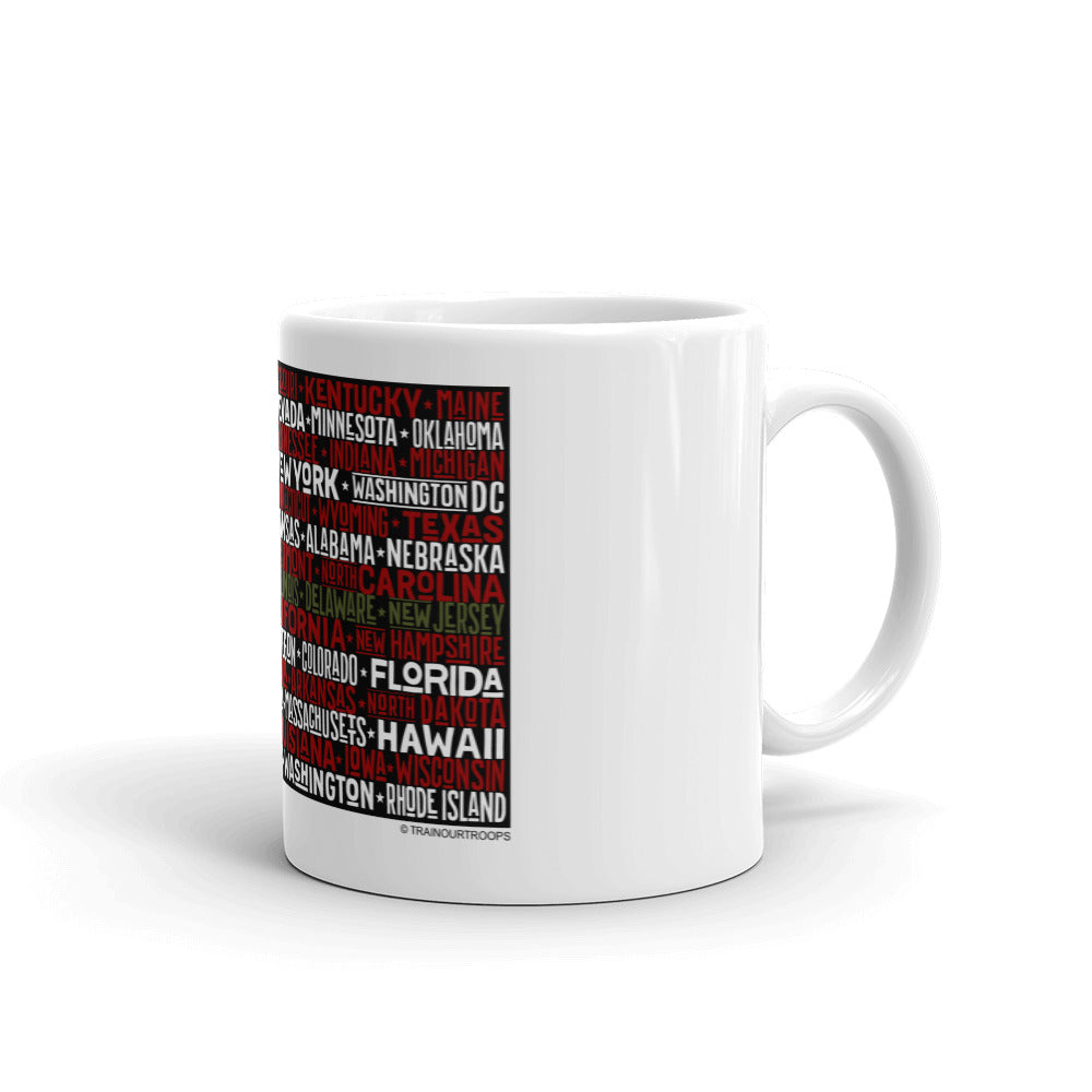 Mug: I Love My Country-TrainOurTroops-TrainOurTroops