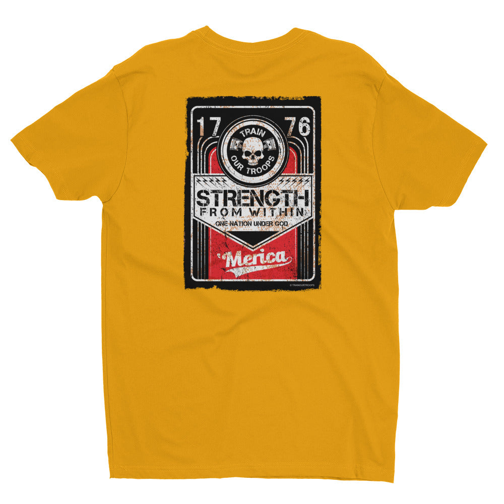 Men's Tee: Strength...-TrainOurTroops-TrainOurTroops