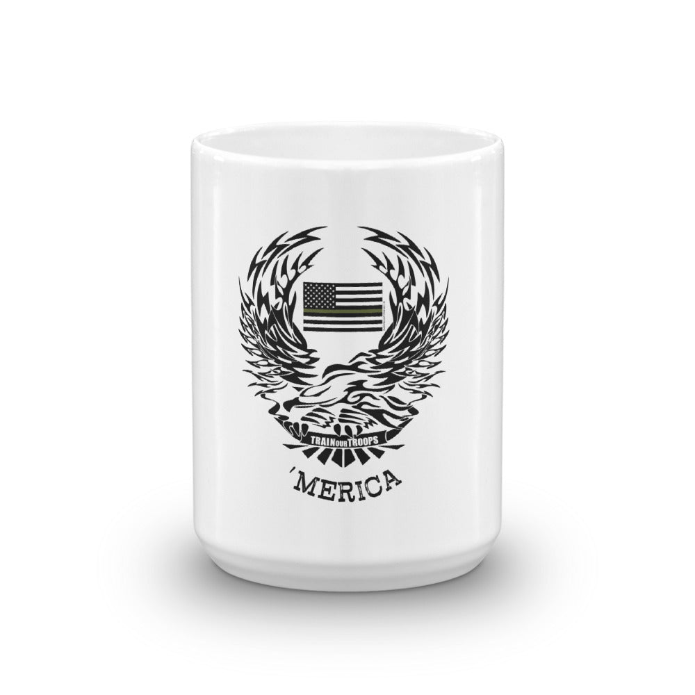 Mug: 'Merica-TrainOurTroops-TrainOurTroops