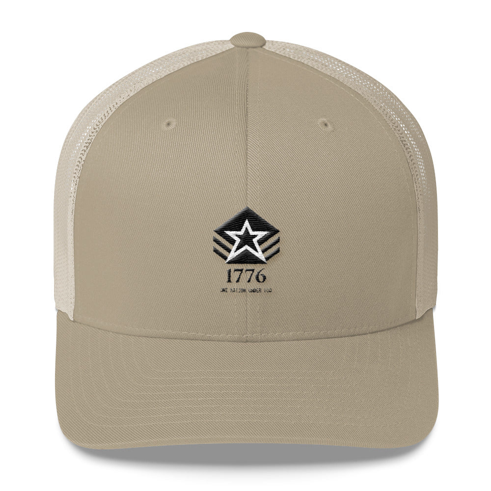 Trucker Hat: 1776...-TrainOurTroops-TrainOurTroops