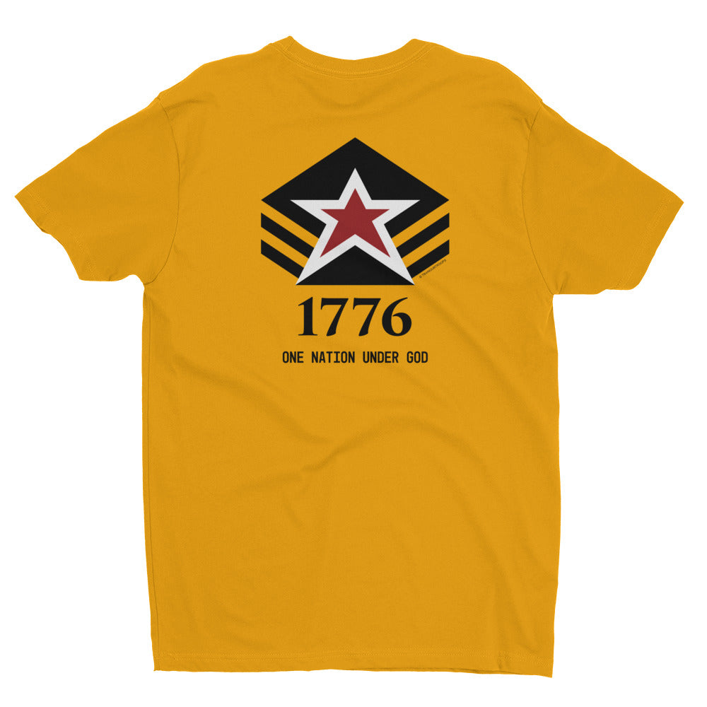 Men's Tee: 1776...-TrainOurTroops-TrainOurTroops