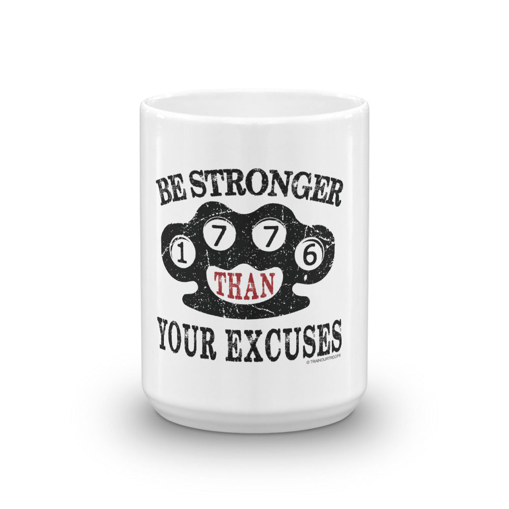 Mug: Be Stronger...-TrainOurTroops-TrainOurTroops