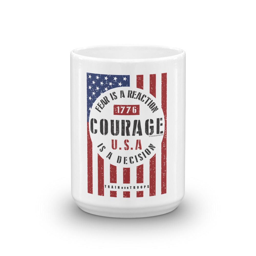 Mug: Fear...-TrainOurTroops-TrainOurTroops