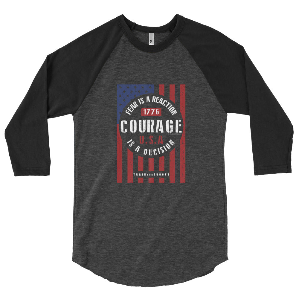Men's Jersey: Courage...-TrainOurTroops-TrainOurTroops