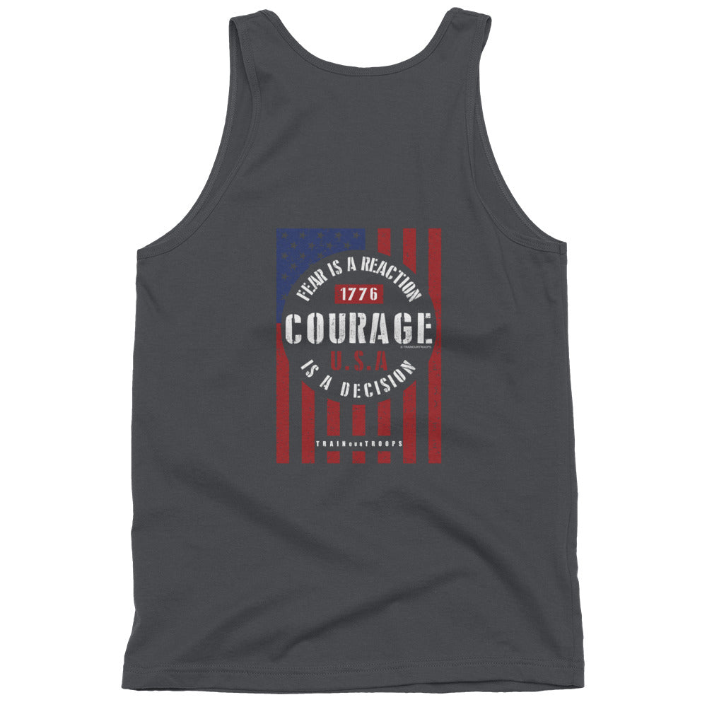 Men's Tank: Courage...-TrainOurTroops-TrainOurTroops