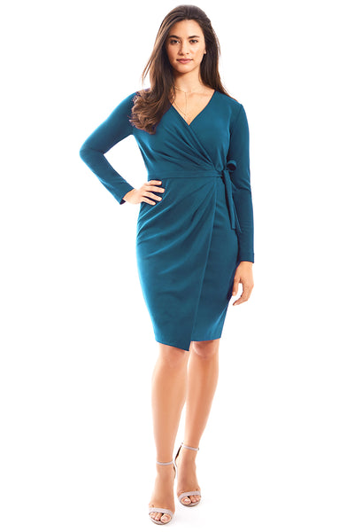 Gravitas Alexandra Wrap Dress