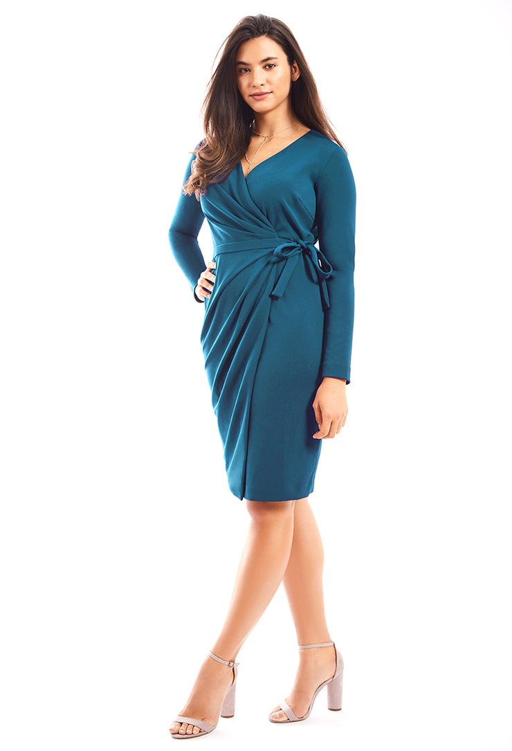 ALEXANDRA WRAP DRESS