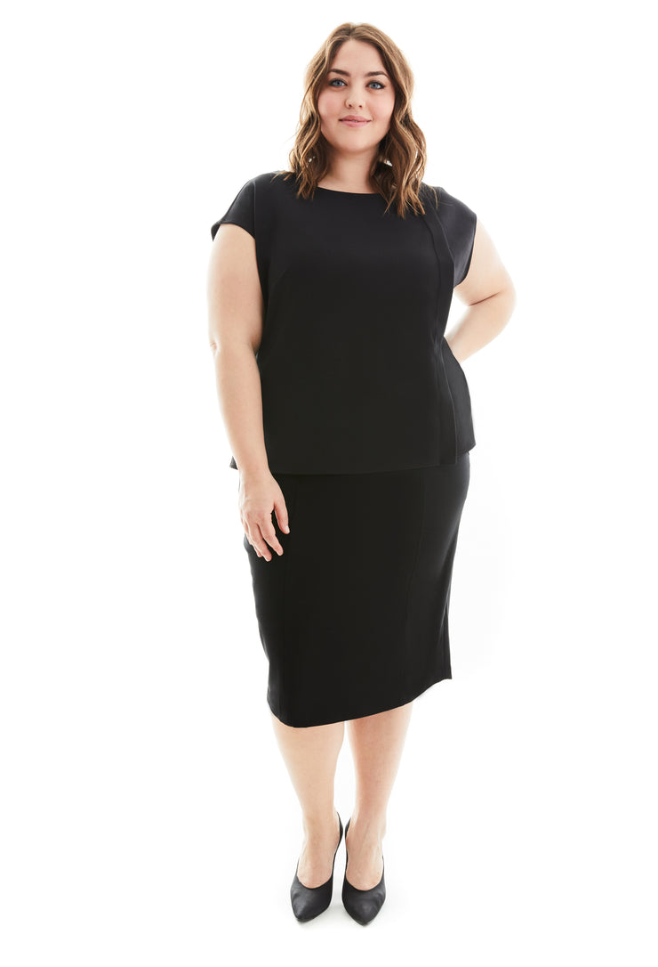 ZORA PLUS SIZE TUNIC