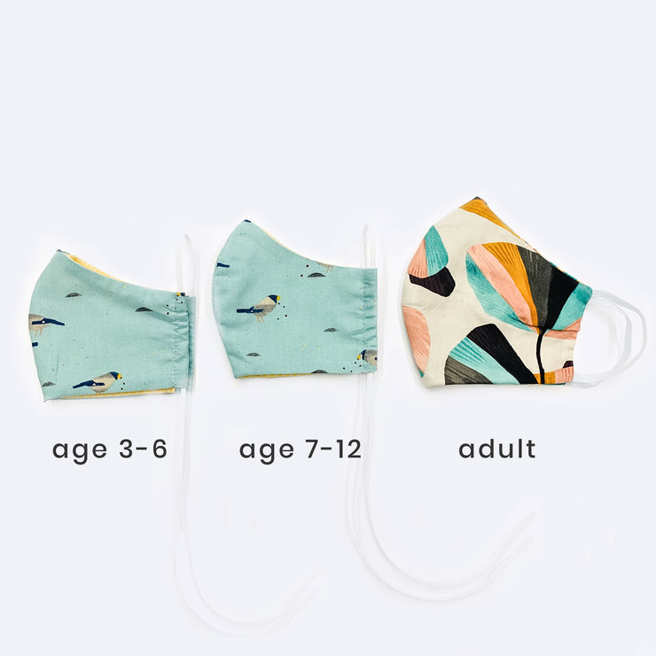 Tokki x Gravitas Face Mask - KIDS 2-6 ($18 when you buy 2 masks)