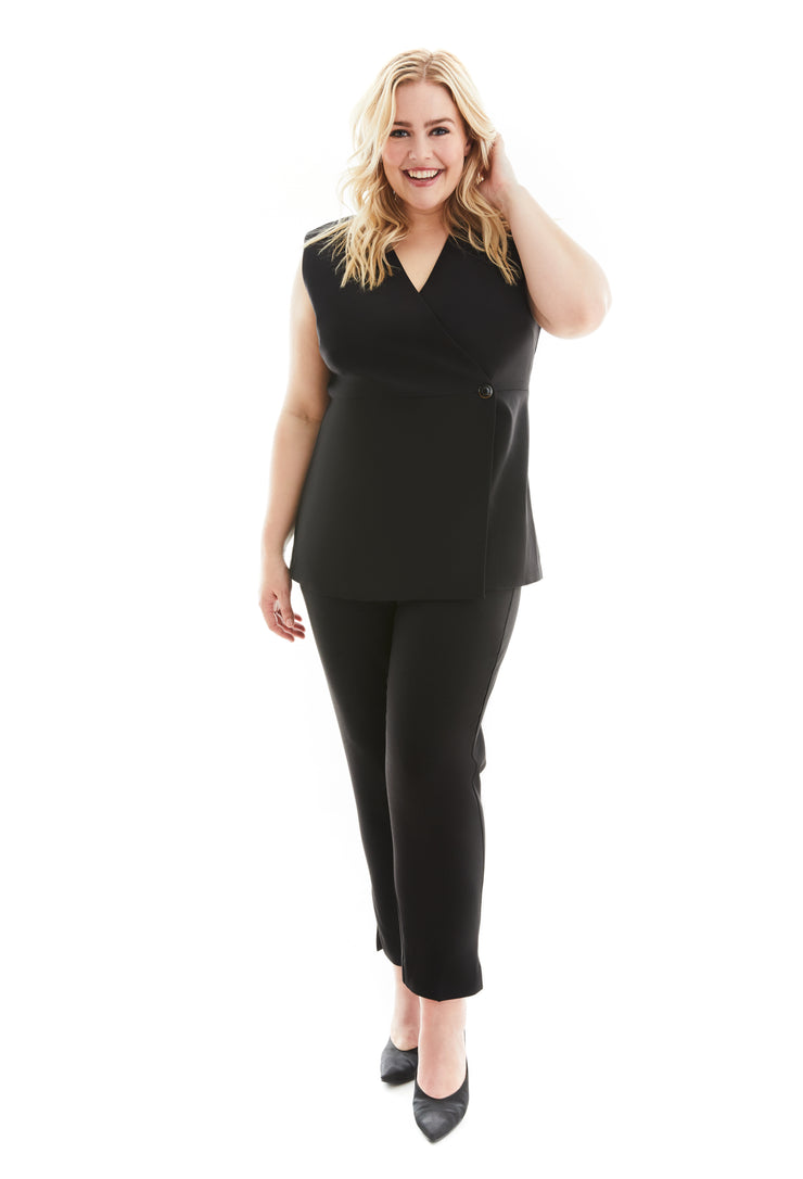 BELLA WORKLEISURE PLUS SIZE VEST