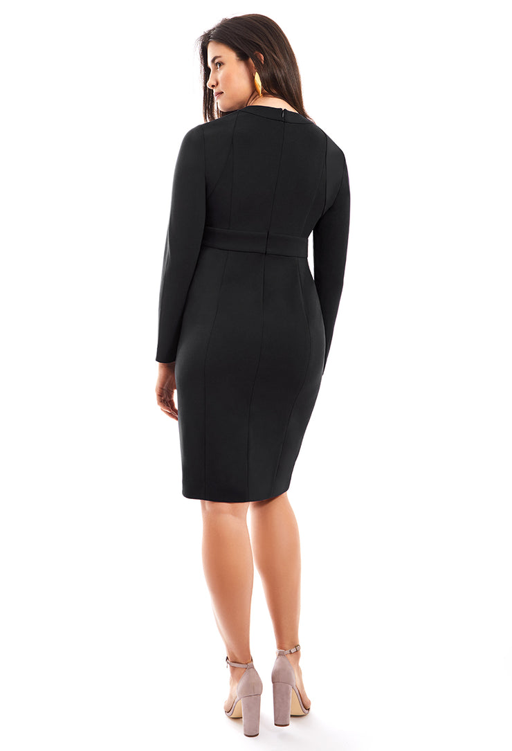 IDA FULL SLEEVE SHAPEWEAR DRESS