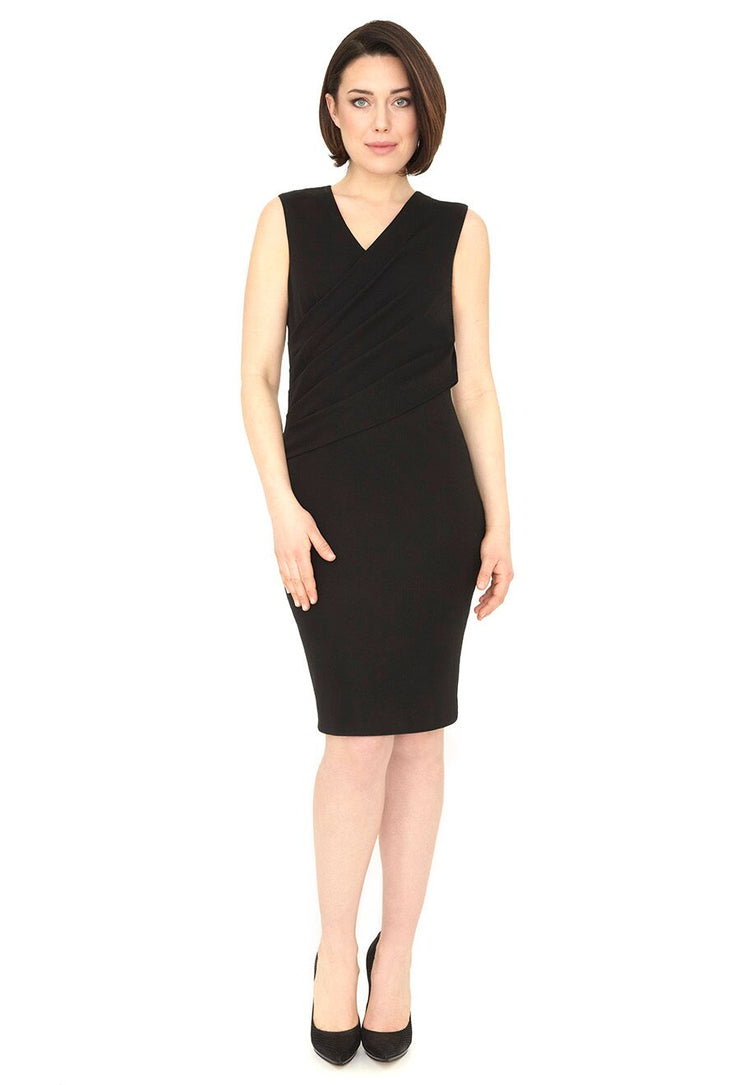 LUCILLE WRINKLE FREE LBD SHAPEWEAR DRESS