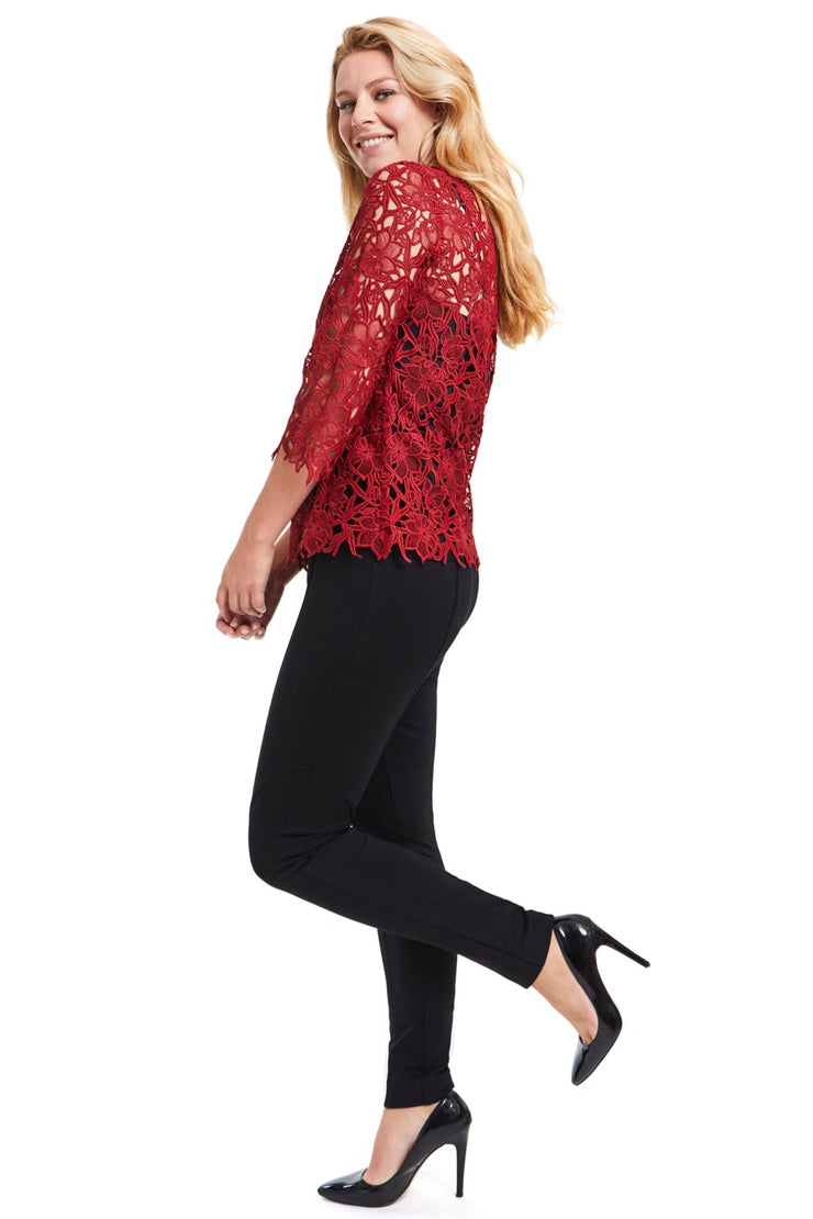 JANE LACE CONFIDENCE BLOUSE