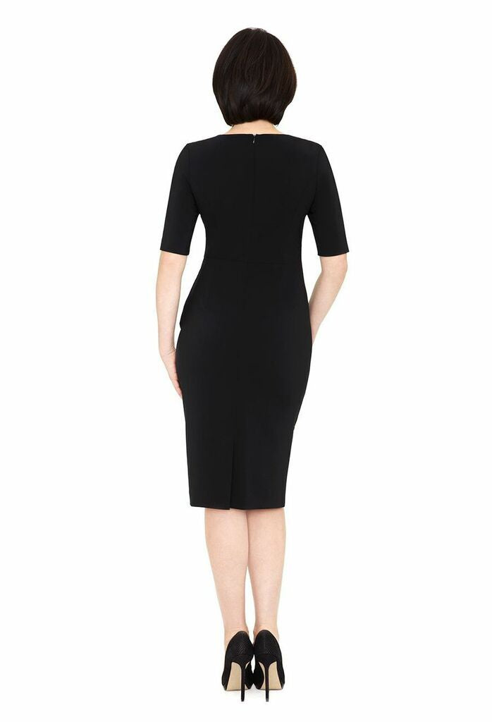 SHIRLEY WOOL SUITING LBD DRESS