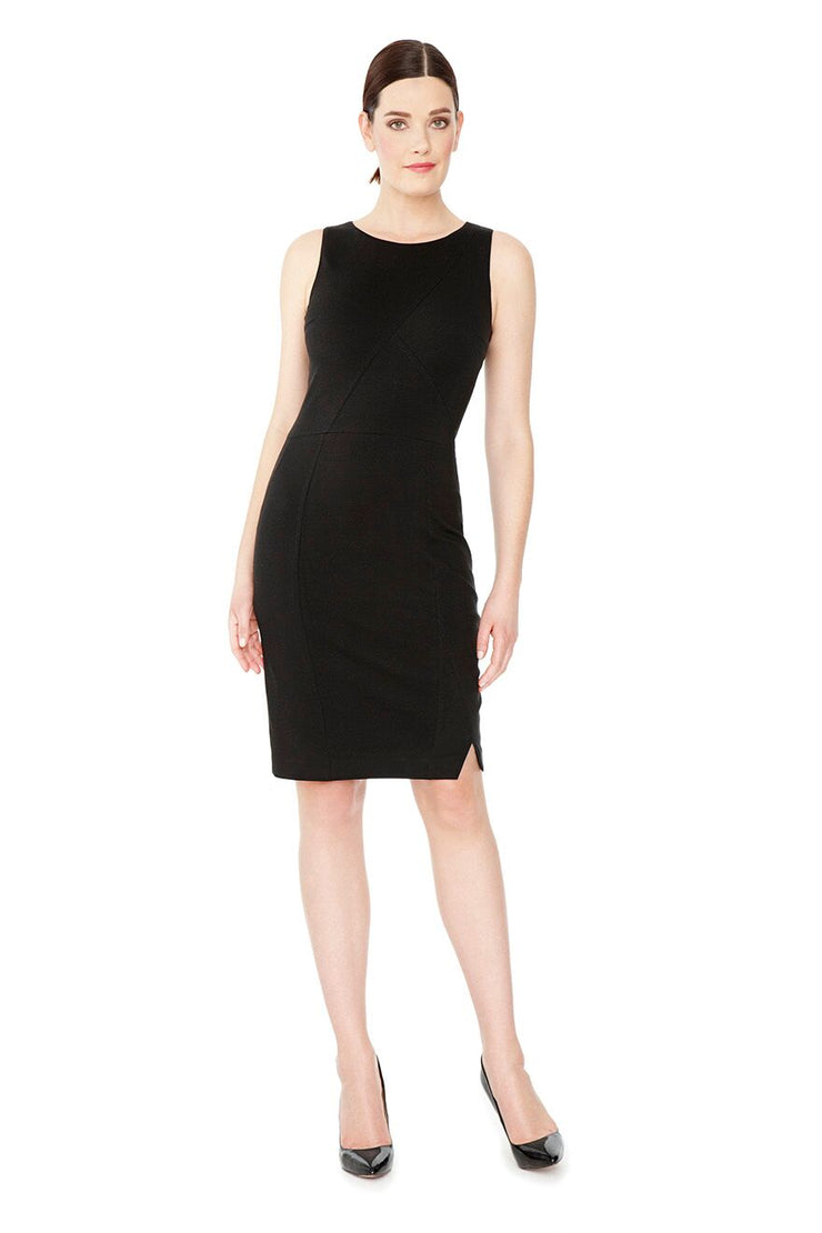 VALENTINA SLEEVELESS LBD SHAPEWEAR DRESS