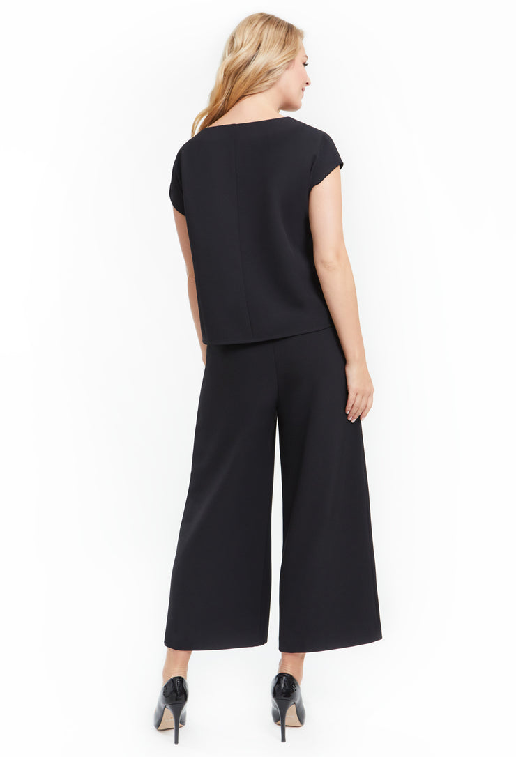 HARPER WIDE LEG HIGH WAISTED WORKLEISURE PLUS SIZE PANT