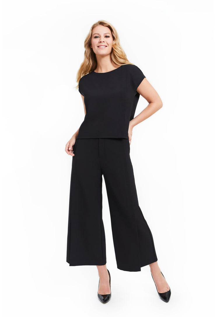HARPER WIDE LEG HIGH WAISTED WORKLEISURE PANT