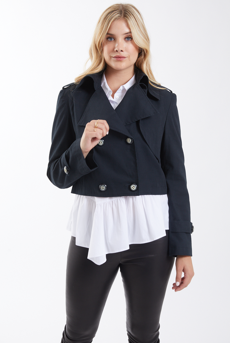 HARRIET CROPPED JACKET