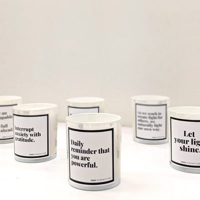 Tokki x Gravitas Confidence Candles