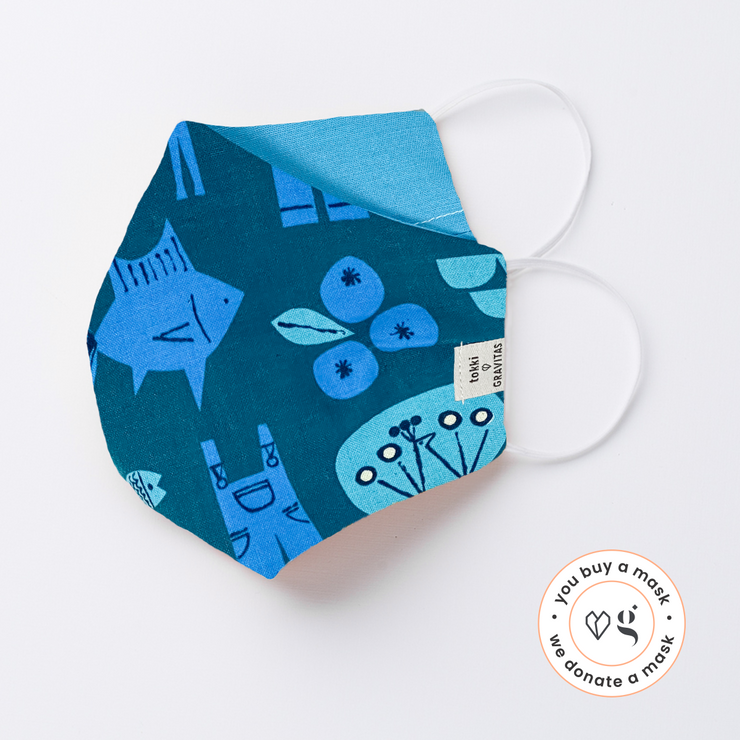 Tokki x Gravitas Bundle: Mask + Keeper + Reusable Envelope