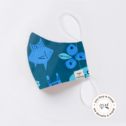 Tokki x Gravitas Face Mask- KIDS AGE 8-12 ($18 each when you buy 2 masks)
