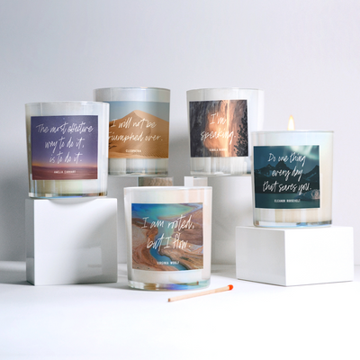 "Tokki x Gravitas ""Women Who Light Us Up"" Candles"